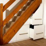 aménagement placard escalier