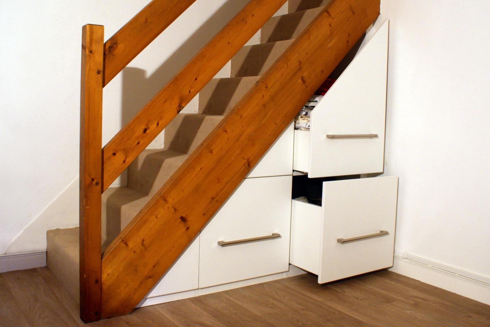amenager placard sous escalier