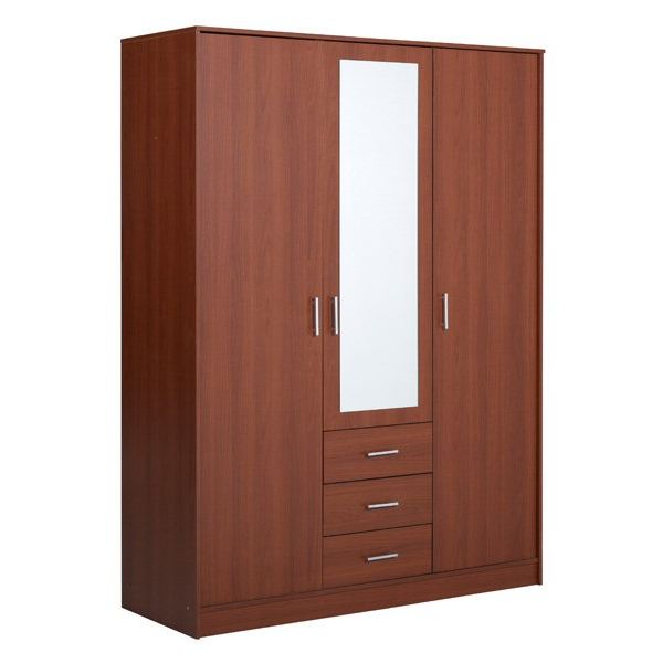 armoire 3 portes. Black Bedroom Furniture Sets. Home Design Ideas