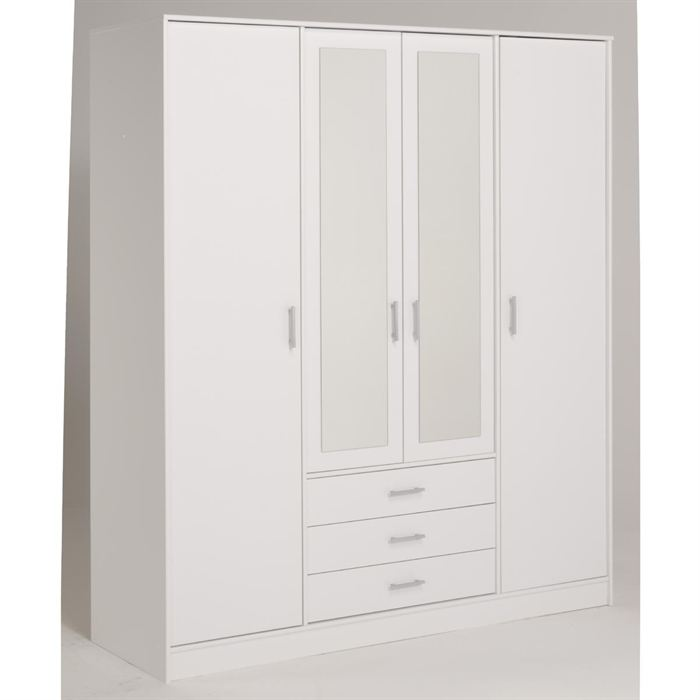 perfect armoire blanche pas cher with placard conforama. Black Bedroom Furniture Sets. Home Design Ideas