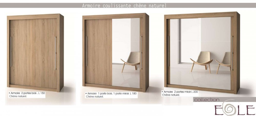 armoire penderie coulissante