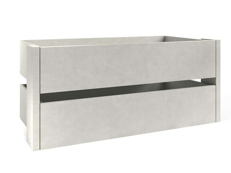 caisson pour dressing free modules de rangement hiba. Black Bedroom Furniture Sets. Home Design Ideas