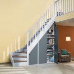 faire un placard sous un escalier