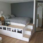 lit avec placard