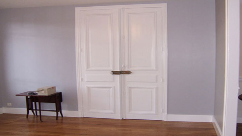 peindre des portes de placard