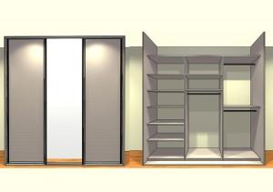 placard 3 portes