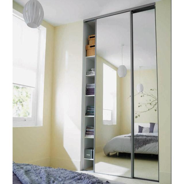placard coulissant miroir