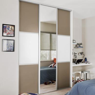 Lapeyre placard sur mesure porte pliante placard ikea for Portes coulissantes placard castorama