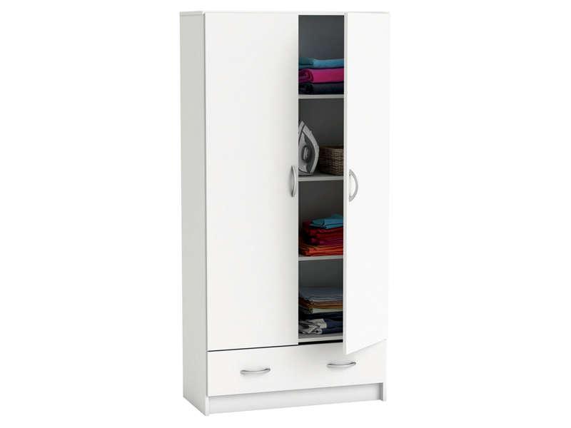 Rangement conforama amazing caisson portes tiroir bureau for Conforama placard