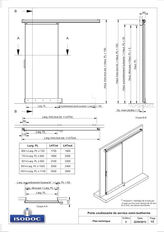 Porte Coulissante Dimension Photosplacardcom - Porte placard coulissante et porte de service vitrée