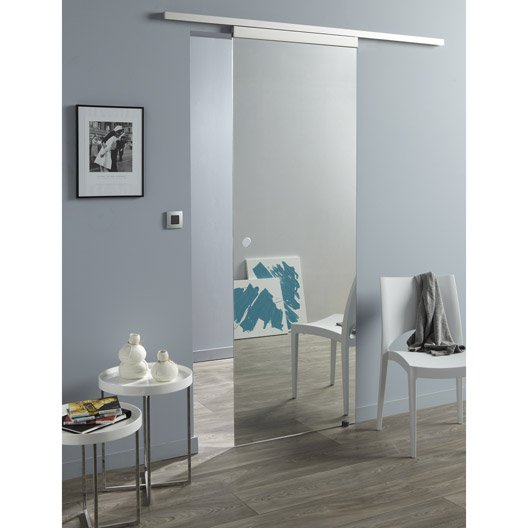 stunning porte coulissante miroir leroy merlin with grand miroir mural leroy merlin. Black Bedroom Furniture Sets. Home Design Ideas