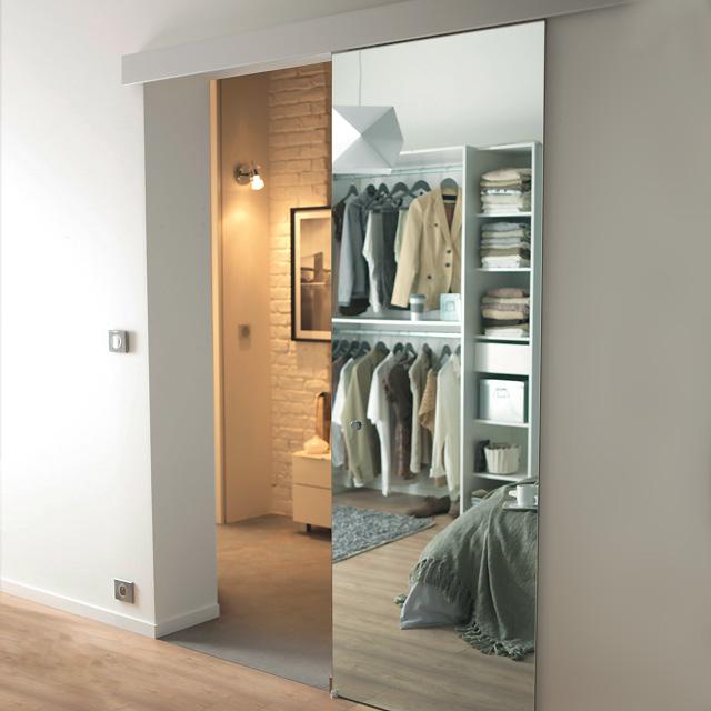 Porte Coulissante Miroir - Photos-Placard.Com