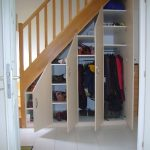 porte placard sous escalier
