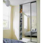 portes de placard coulissantes miroir