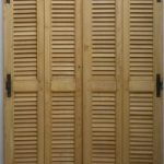 portes de placard persiennes